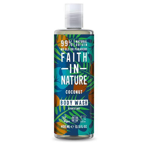 Faith in Nature sprchový gel Kokos 400 ml 1