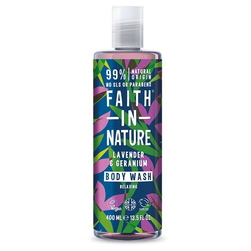 Faith in Nature sprchový gel Levandula 400 ml 1