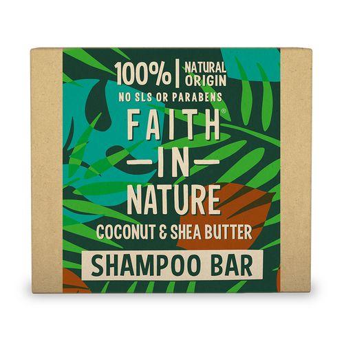 Faith in Nature tuhý šampón Kokos&Shea Butter 85g 1