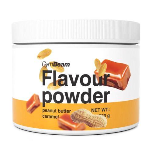 Flavour powder Arašid. maslo, karamel 250g GymBeam 1