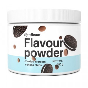Flavour powder Cookies, choco chips 250g GymBeam 4