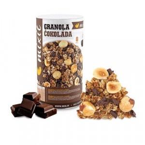 Granola z pece Čokoláda a liesk.orechy 570g, Mixit 3
