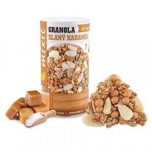 Granola z pece Slaný karamel 550g, Mixit 4