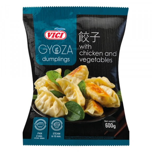 Gyoza kuracia so zeleninou mraz. VICI 600g 1