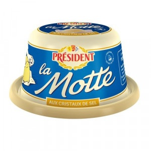 Maslo la Motte s morskou soľou, Président 250 g 5