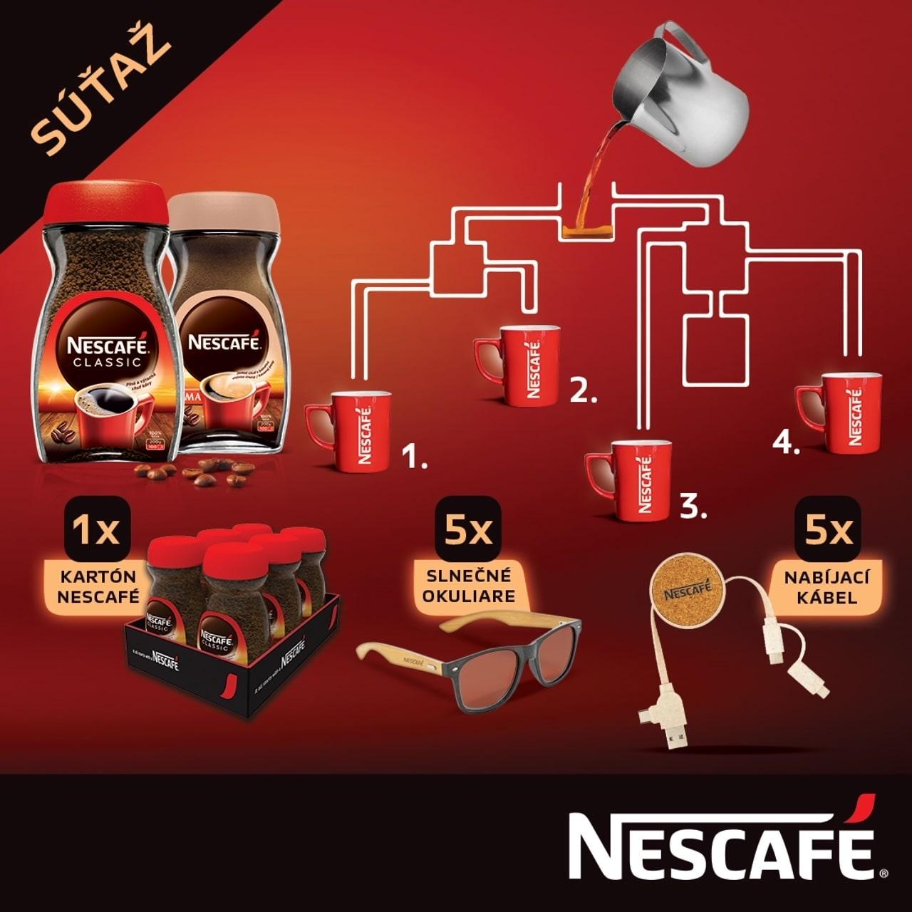Súťaž s Nescafé