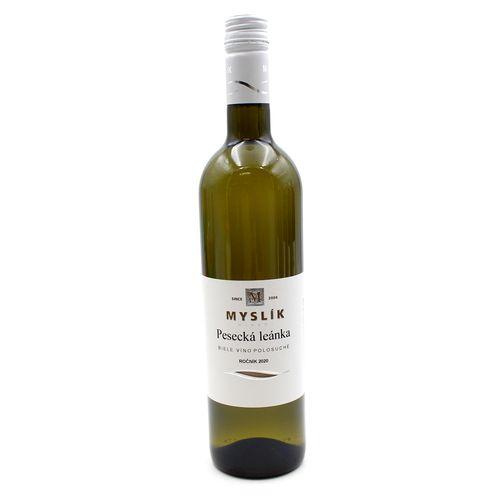 Víno b. Pesecká leánka polosuché, Myslík 0,75l SK 1
