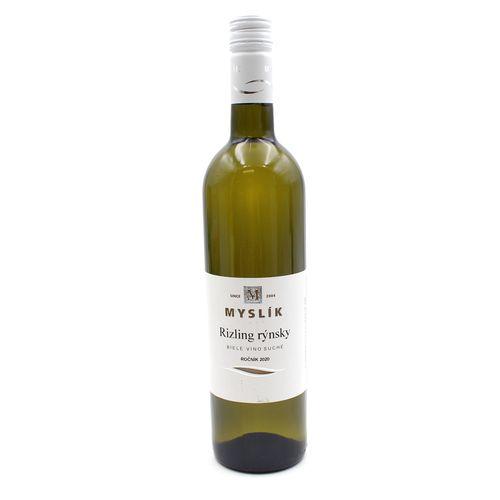 Víno b. Rizling rýnsky suché, Myslík 0,75l SK 1