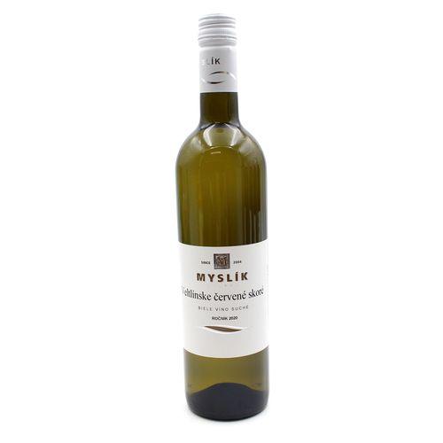 Víno b. Veltlínske č. skoré suché, Myslík 0,75l SK 1
