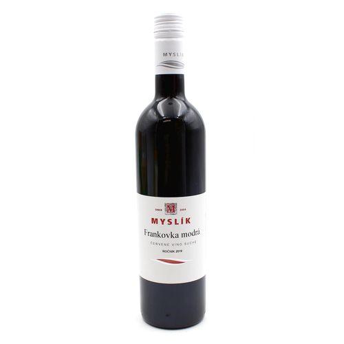 Víno č. Frankovka modrá suché, Myslík 0,75l SK 1