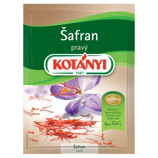 Korenie Šafrán pravý 0,12g Kotányi 1