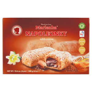 Marlenka® Napoleonky kakaové 300g 3