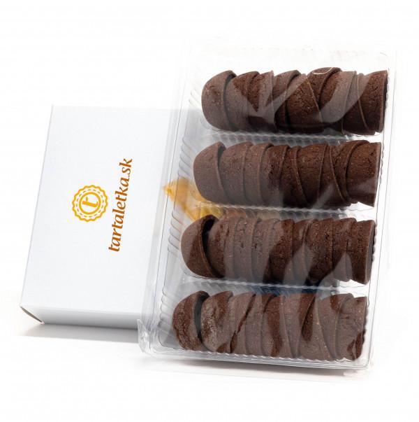 Čokoládový košíček malý Tartaletka 40x18 mm, 180g 1