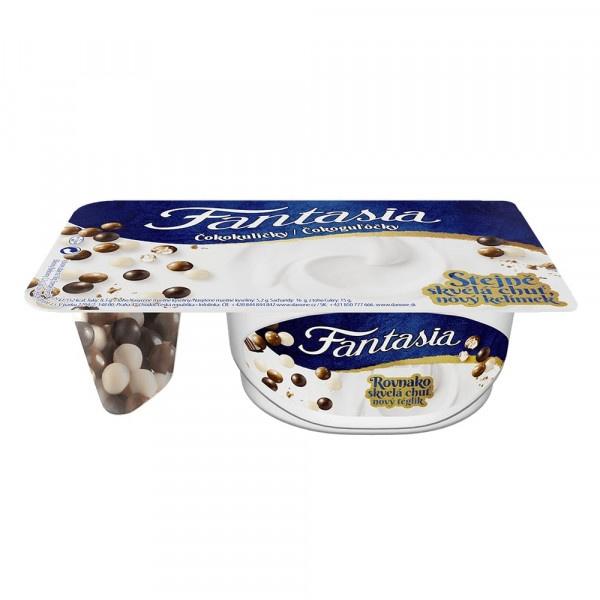 Jogurt Fantasia s čokolád. guľôčkami DANONE 100 g 1