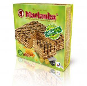 Marlenka® Torta medová bezlepková 800g 6