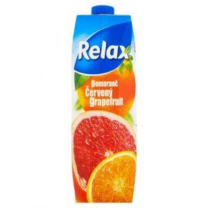 Relax Džús Pomaranč červ. grapefruit 1l VÝPREDAJ 21
